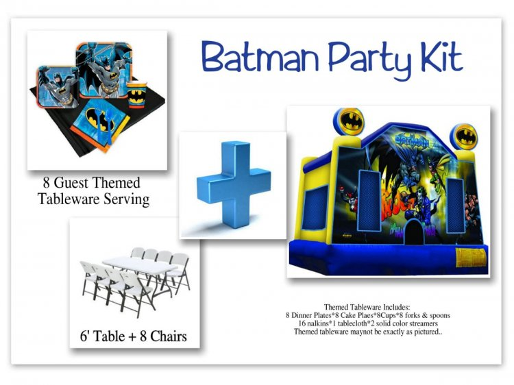 Batman Party Kit