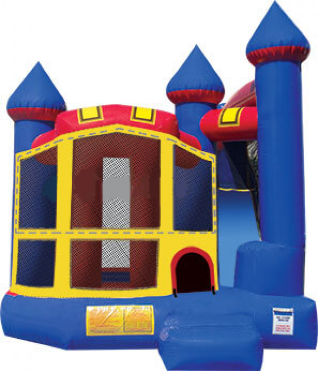 Bounce Houses with Slides (Combos)