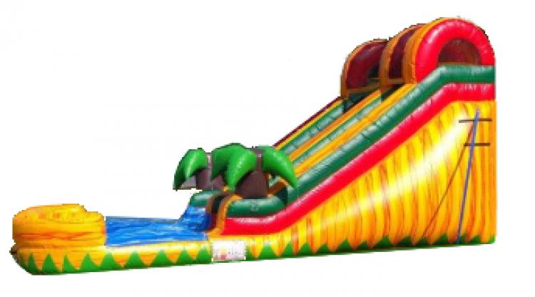14' Tropical Fiesta Water Slide
