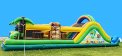 Tiki Island DRY Obstacle Course