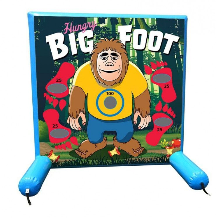 Big Foot Inflatable Frame Game