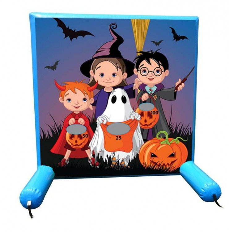 Trick or Treat Inflatable Frame Game